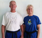 Shihan Henk and Sensei Bianca
